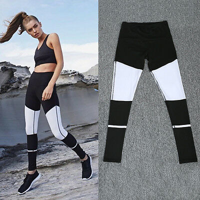 Women Casual Yoga Gym Running Sports Pants Girl Stretch Workout Fitness Leggings