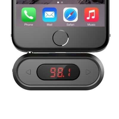 TECH Black Doosl DSER107 Multifunctional Car FM Transmitter Wireless Music Rece