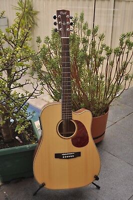 Cort MR-710F Solid Top Guitar Acoustic / Electric