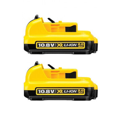 2X DeWalt DCB127 10.8V 2.0Ah Battery XR Li-ion