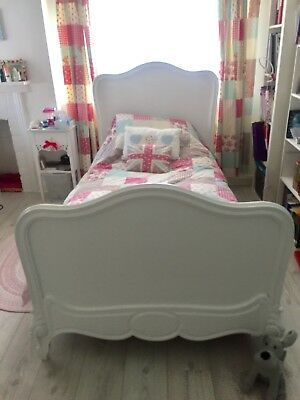 Antique French Single Bed Shabby Chic