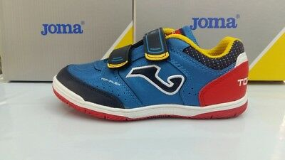 Joma TOP FLEX JUNIOR 704 Royal Velcro.