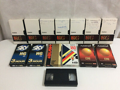 14 Preowned VHS Video Tapes