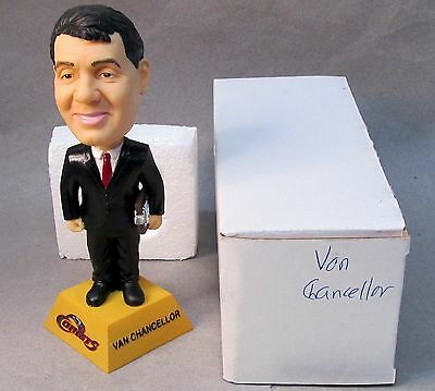 2002 Houston Comets VAN CHANCELLOR WNBA Basketball nodder bobblehead bobber MIB
