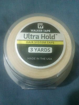 "ULTRA HOLD TAPE FOR WIGS/TOUPEES *extra strong hold* (1"" x 3 yards) size"