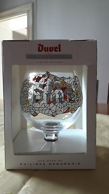 **verre Glas Duvel Collection 2012 Coffret Philippe Debonghie Edition**
