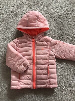 Joules Girls Coat 12-18 Months