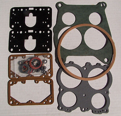 Holley spreadbore D / P GASKET SET & small parts kit HY-368GS by Fuel Miser