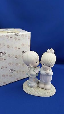 Enesco Precious Moments Love Is From Above Butterfly Mark #521841 W/box