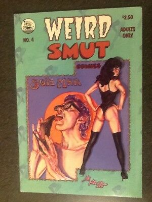 Weird Smut #4 (1991, John A. Mozzer), by Spain, Welz and others. Fine+ Condition