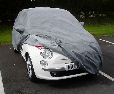 Fitted Outdoor Waterproof Stormforce Car Cover for Fiat 500 Hatchback 2007-On
