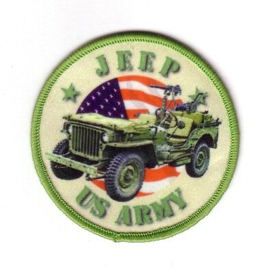 U.S ARMY JEEP (Ecusson/Patch Souvenir)
