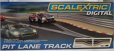 Scalextric C7014 Pit Lane Track Left Hand Slot Car