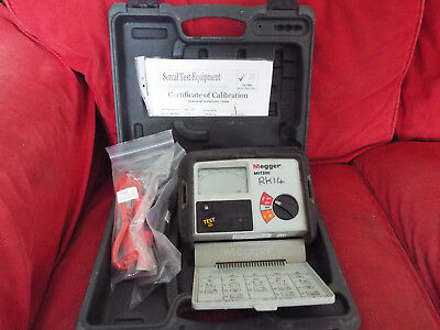 Megger MIT300 Insulation and Continuity Tester Just calibrated till 21/08/2018