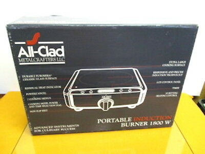 NEW IN BOX - All Clad Portable Induction Burner 1800W Model 99015 - Original