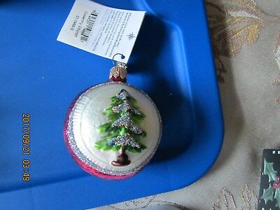 COLLECTIBLE Christopher Radko COVENTRY CHURCH Glass Ornament  Christmas