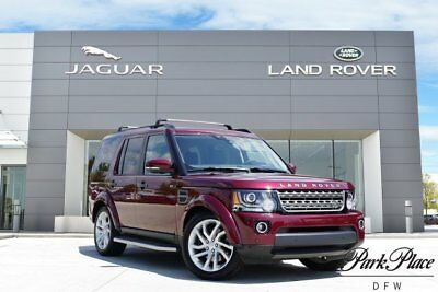 2016 Land Rover LR4 HSE Sport Utility 4-Door CERTIFIED Climate Comfort Package HSE Package Tow Package 20 Inch Wheels