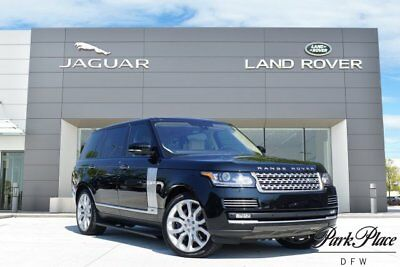 2016 Land Rover Range Rover  CERTIFIED Autobiography Rear Executive Class Seating 22 inch Wheels