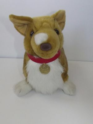 "Cowboy BeBop Plush Ein Data Dog Corgi Cute 12"" Long 2011 Anime Licensed"