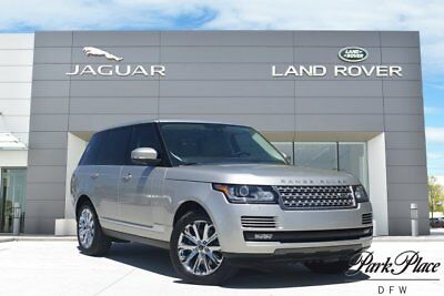 2015 Land Rover Range Rover HSE Sport Utility 4-Door CERTIFIED Vision Assist Package Blind Spot Monitor Surround View Camera