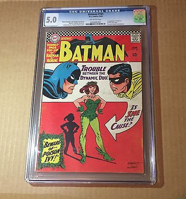 BATMAN #181 CGC 5.0 1st Appearance Of POISON IVY