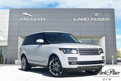 2015 Land Rover Range Rover HSE Sport Utility 4-Door CERTIFIED Heated Wood and Leather Steering Wheel Chrome Wheels Vision Assist