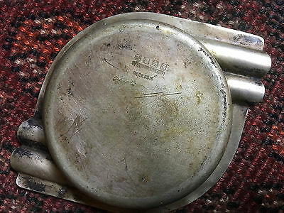 1930's  ART DECO ASHTRAY forrestoration/clean hallmarked