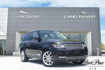 2014 Land Rover Range Rover HSE Sport Utility 4-Door CERTIFIED 22 inch Wheels Heated Wood and Leather Steering Wheel Panoramic Roof