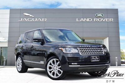 2015 Land Rover Range Rover HSE Sport Utility 4-Door CERTIFIED Driver Assist Pack Rear Entertainment Vision Assist 22 inch Wheels