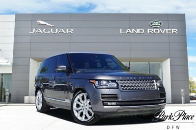 2014 Land Rover Range Rover HSE Sport Utility 4-Door CERTIFIED 4 Zone Climate Heated and Cooled Front Seats Meridian Sound