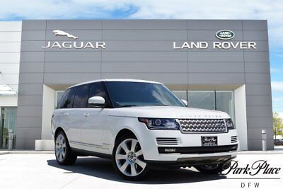 2013 Land Rover Range Rover  upercharged 22 inch Wheels 4 Zone Climate Meridian Sound Vision & Park Assist