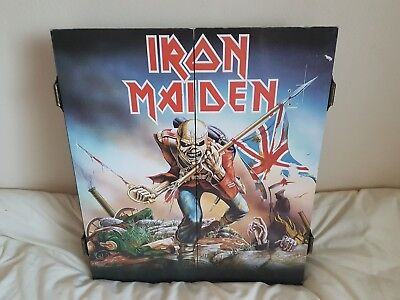 Iron Maiden Dartboard And Case
