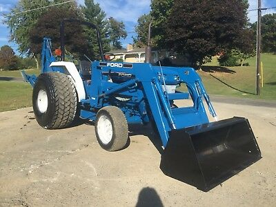Ford 1920 Diesel Tlb Tractor Loader Backhoe 540 Pto 4X4 Four Wheel Drive