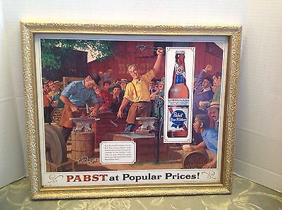 Vintage PABST beer sign