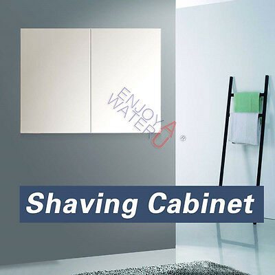 750 X 720 X150mm Mirror Cabinet Pencil Edge Shaving Medicine Bathroom Vanity NEW