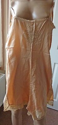 Vintage Peach Cami-knickers, probably 1930's/1940's