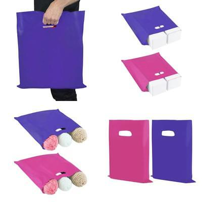 """100 Pack Reusable Shopping Bags Recyclable Bag Retail Boutique Book Bag 12""""x15"""""""