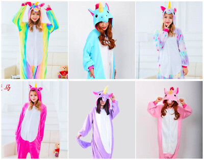Adult  Tenma Unicorn Kigurumi Pajamas Animal Cosplay Costume Unisex