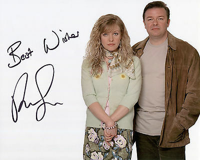 Ricky Gervais - Andy Millman - Extras - Signed Autograph REPRINT