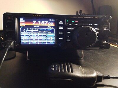 Yaesu FT - 991 HF/VHF/UHF Fusion transceiver. Boxed, complete mint condition.