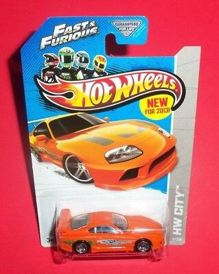 HOT WHEELS - NEW for 2013 - TOYOTA SUPRA - FAST AND FURIOUS