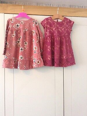 Girls Zara Dresses Age 2-3 Years