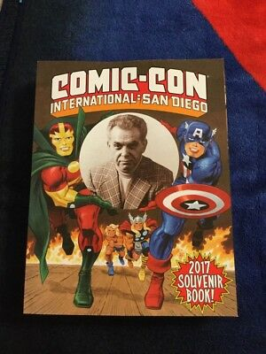 Sdcc 2017 Exclusive Jack Kirby Souvenir Book