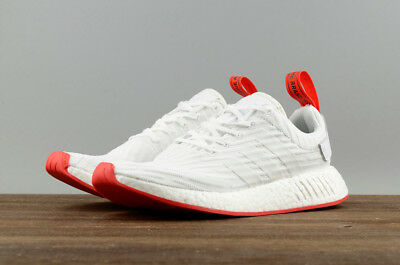 Adidas NMD R2 Unisex Running Jogging Gym Street Style Sport Shoes White BA7253