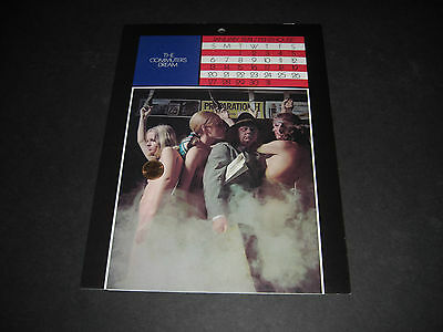 Penthouse The American Dream Calendar with Sleeve Vintage 1974