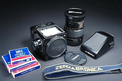 Zenza Bronica GS-1 Camera, 200mm. lens, AE Finder EXC. +