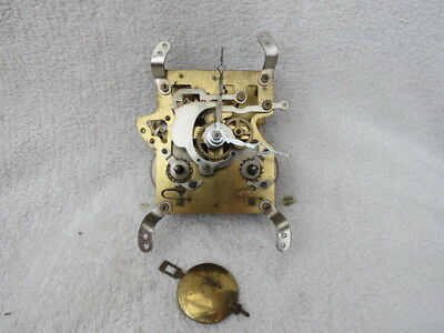 Lot 11 8 Day Striking Clock Movement Hands And Pendulum
