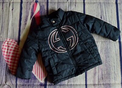 Gucci Baby Boy Or Girl Designer Down Filled Winter Coat 12-18 Months Perfect