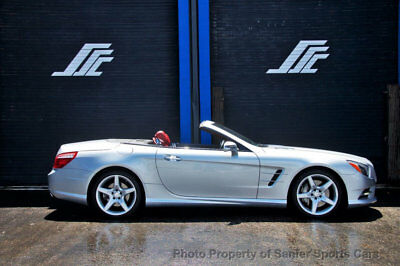 2014 Mercedes-Benz SL-Class 2dr Roadster SL 550 2014 Mercedes Benz SL550 Sport Red Leather Pano AMG Wheels Warranty Financing