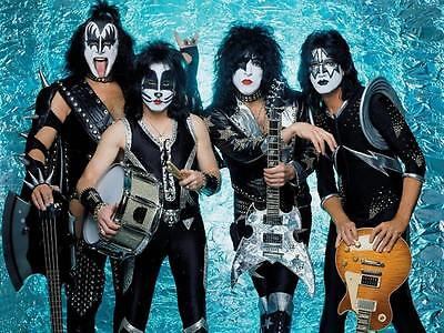 KISS Unsigned Gloss 8x10 Photo